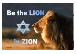 Lion in Zion new